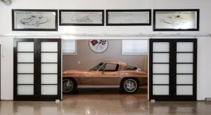 3. Corvette in Garage