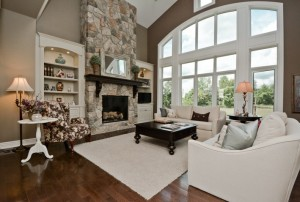 Family Room/Living Room with a view