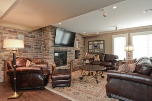 Comfy Man Cave or Family Room