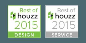 Best of Houzz 2015 Badges